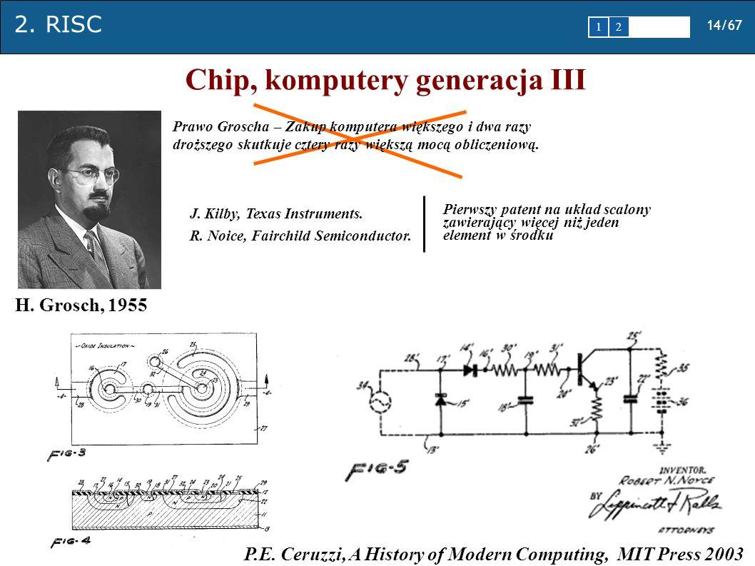 Chip, komputery generacja III