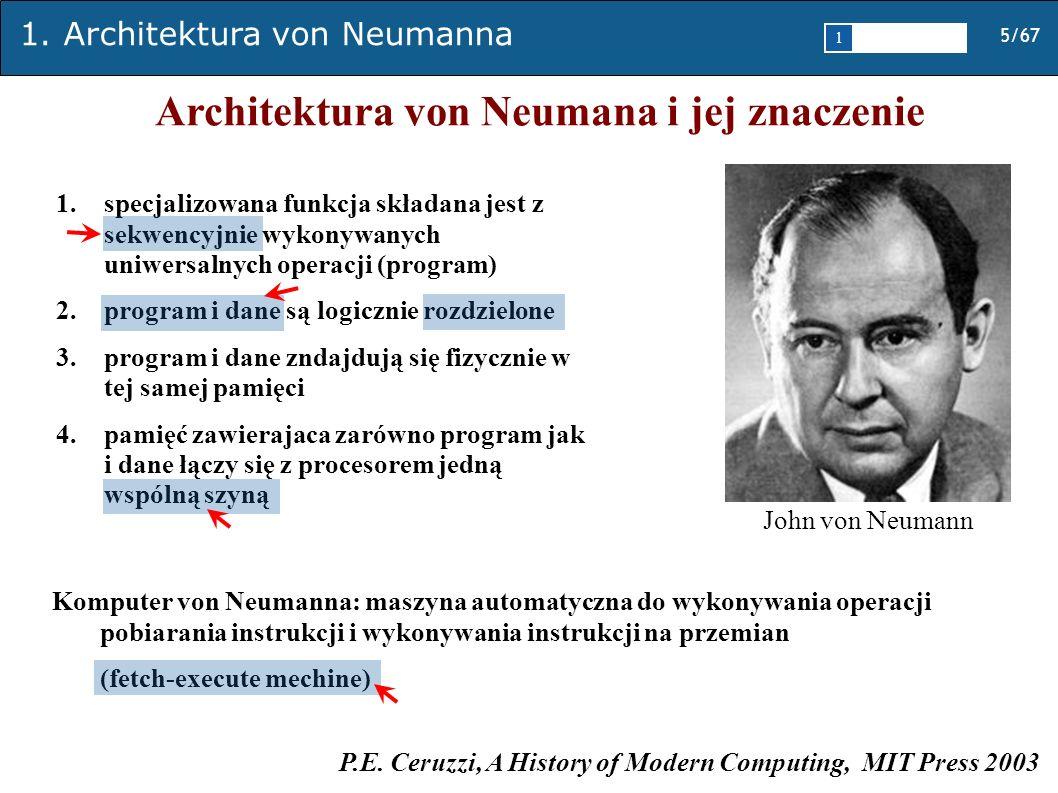 Architektura von Neumana i jej znaczenie
