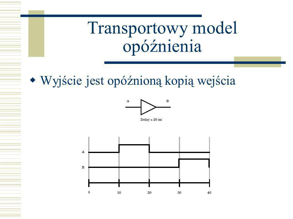 Transportowy model opóźnienia
