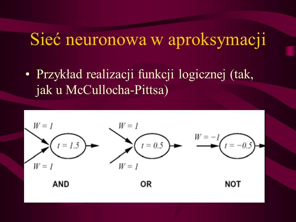 Sieć neuronowa w aproksymacji
