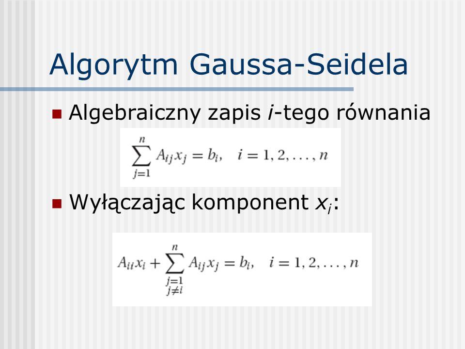 Algorytm Gaussa-Seidela