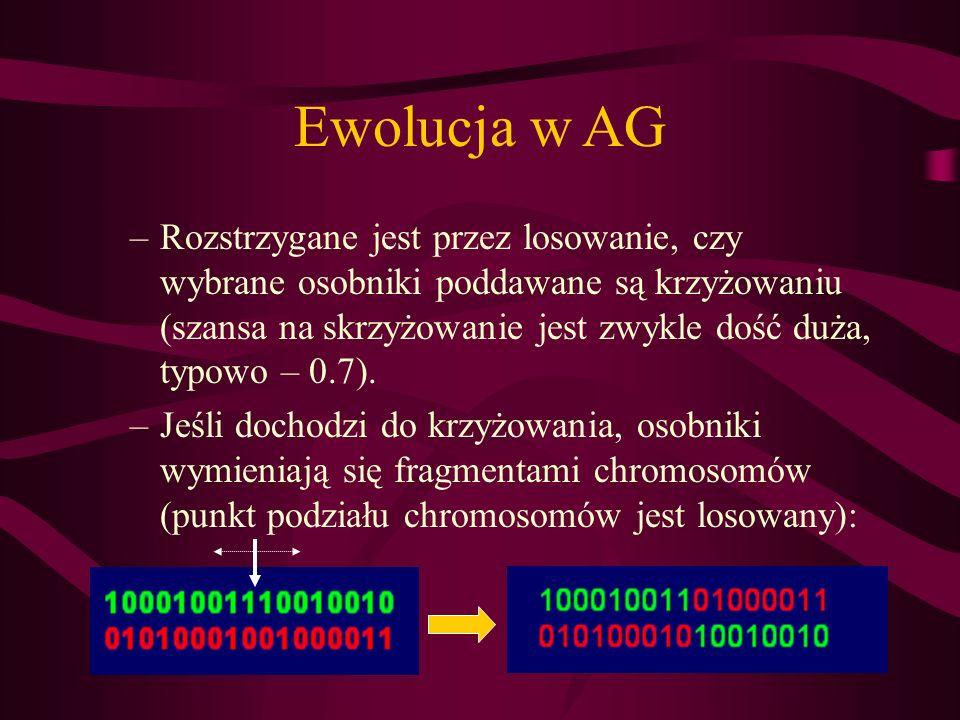 Ewolucja w AG