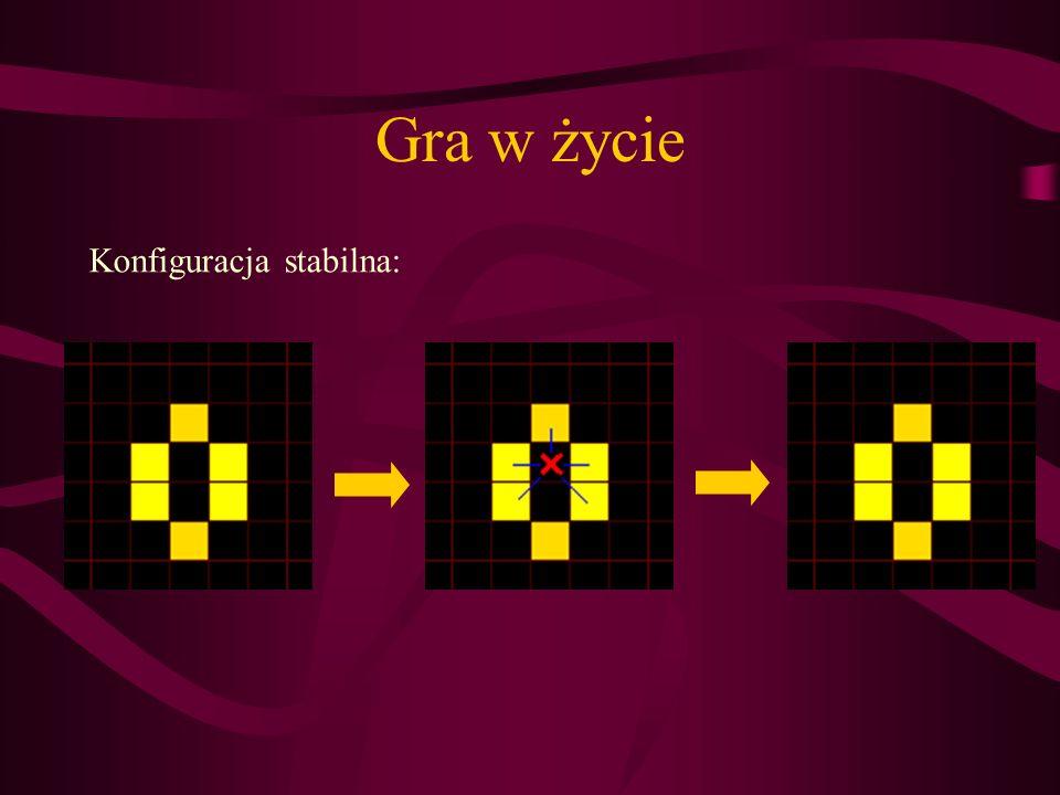 Konfiguracja stabilna: