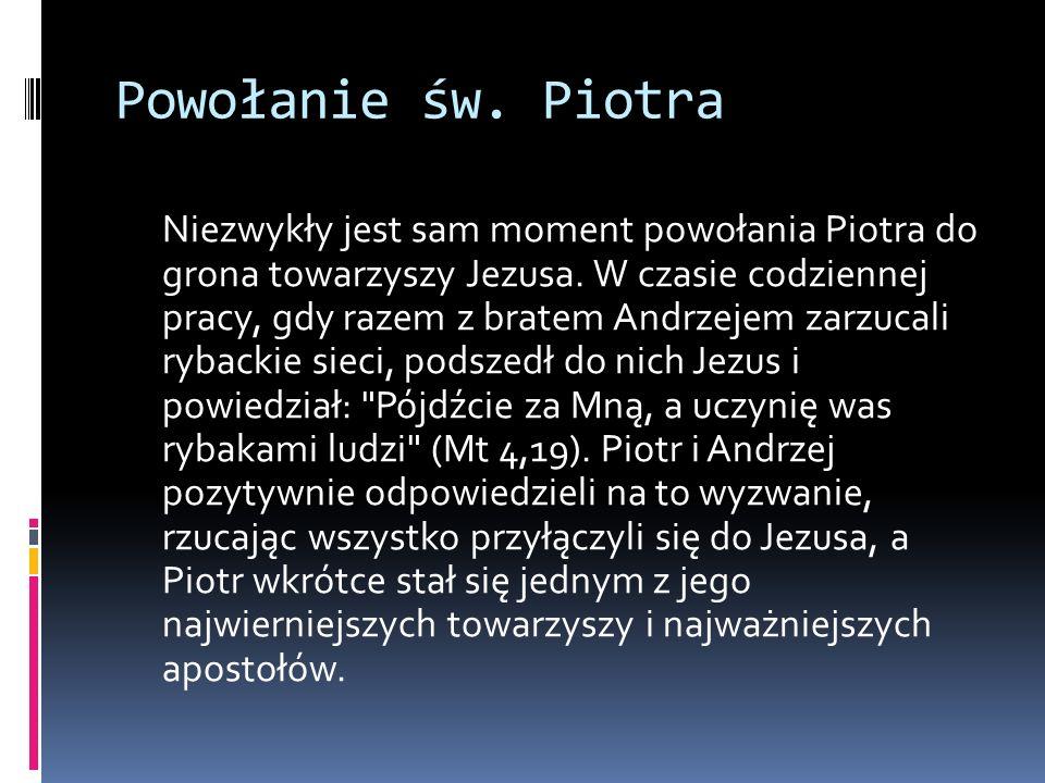Powołanie św. Piotra