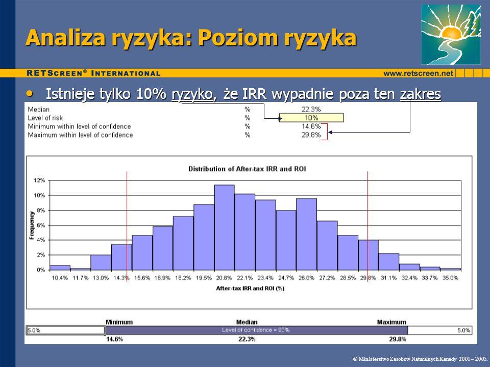 Analiza ryzyka: Poziom ryzyka