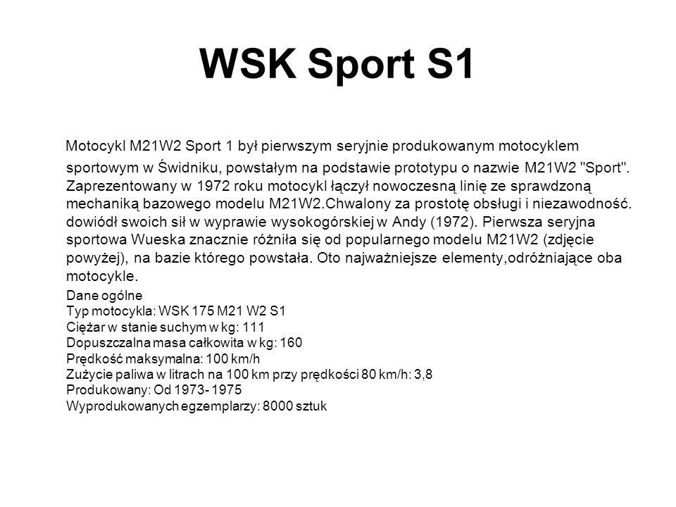 WSK Sport S1