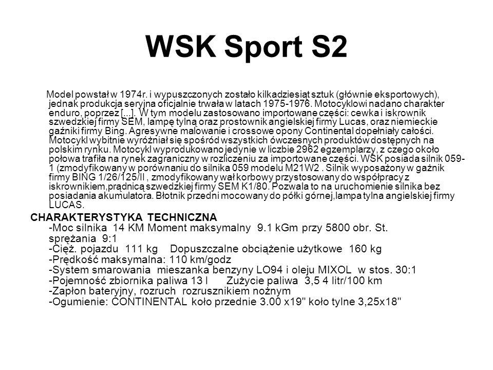 WSK Sport S2