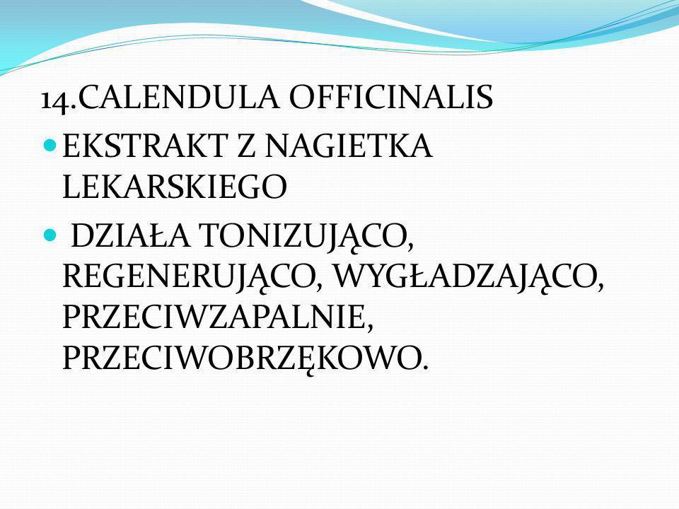 14.CALENDULA OFFICINALIS