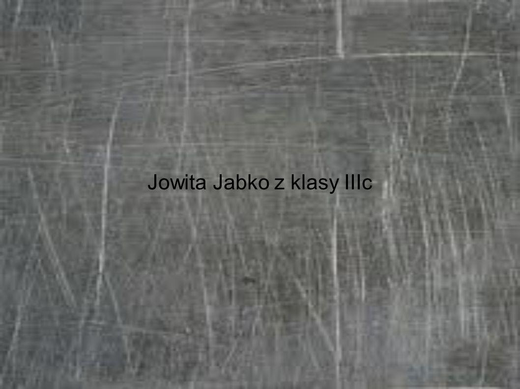 Jowita Jabko z klasy IIIc