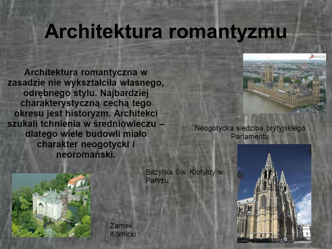 Architektura romantyzmu