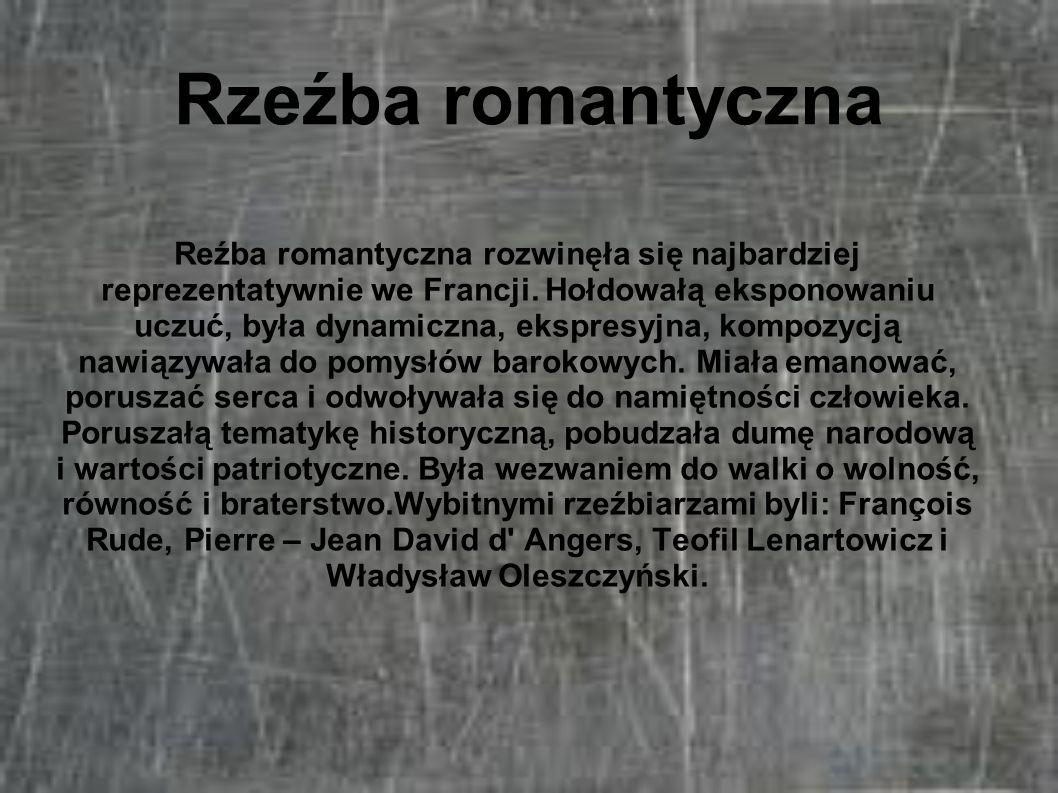 Rzeźba romantyczna