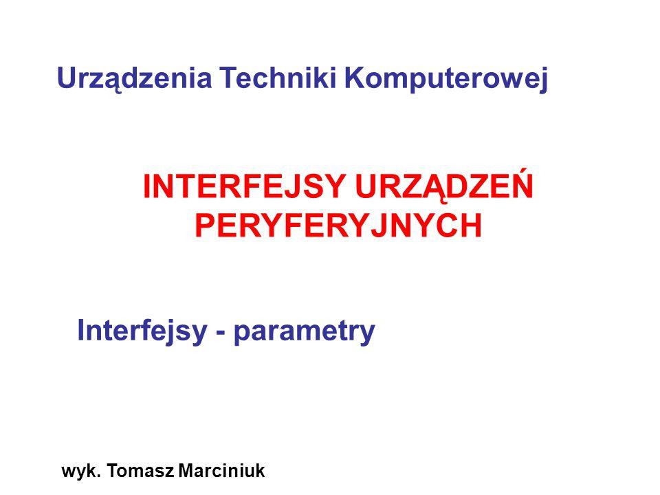 INTERFEJSY URZĄDZEŃ PERYFERYJNYCH