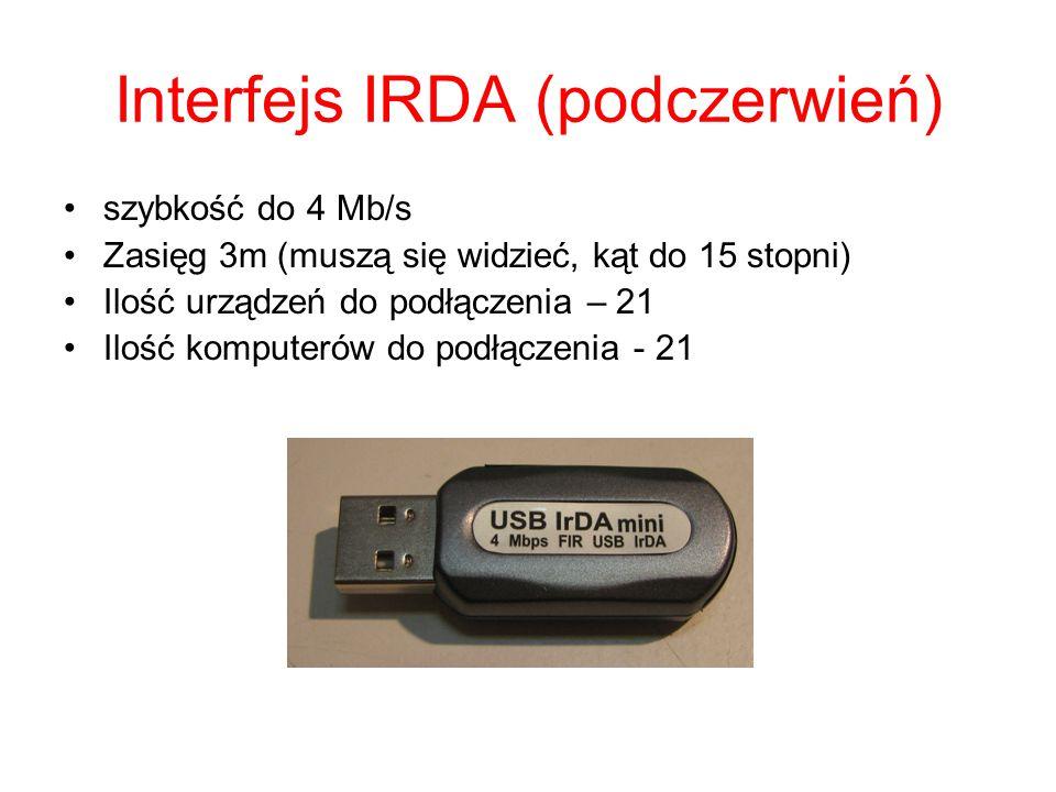 Interfejs IRDA (podczerwień)