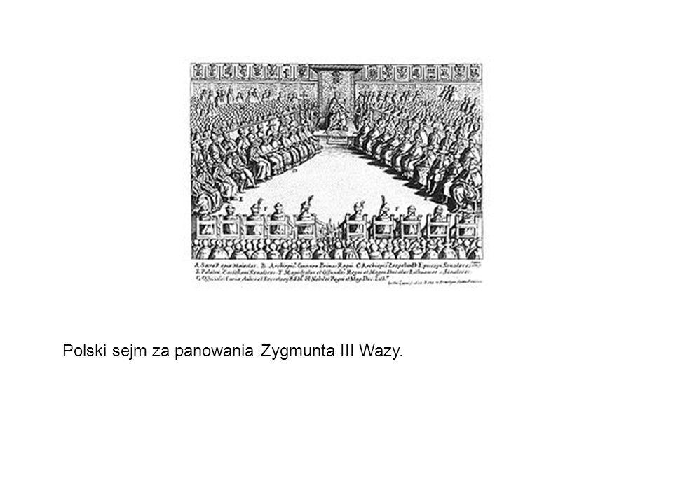 Polski sejm za panowania Zygmunta III Wazy.