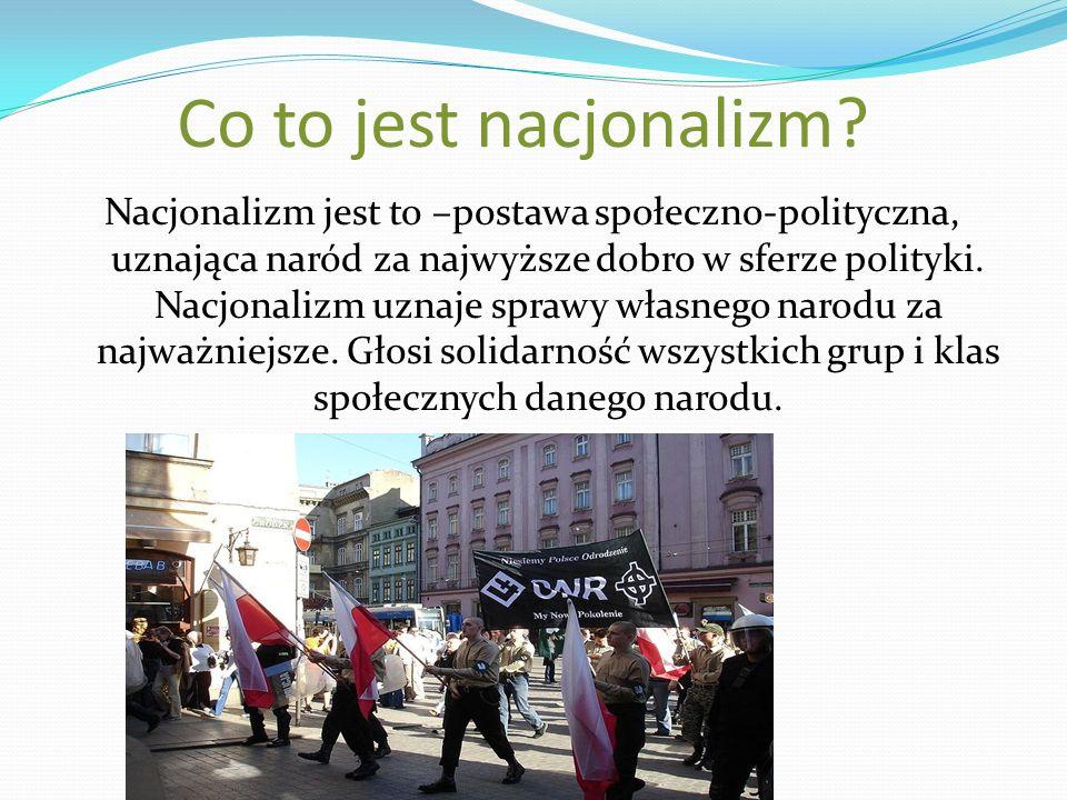 Co to jest nacjonalizm