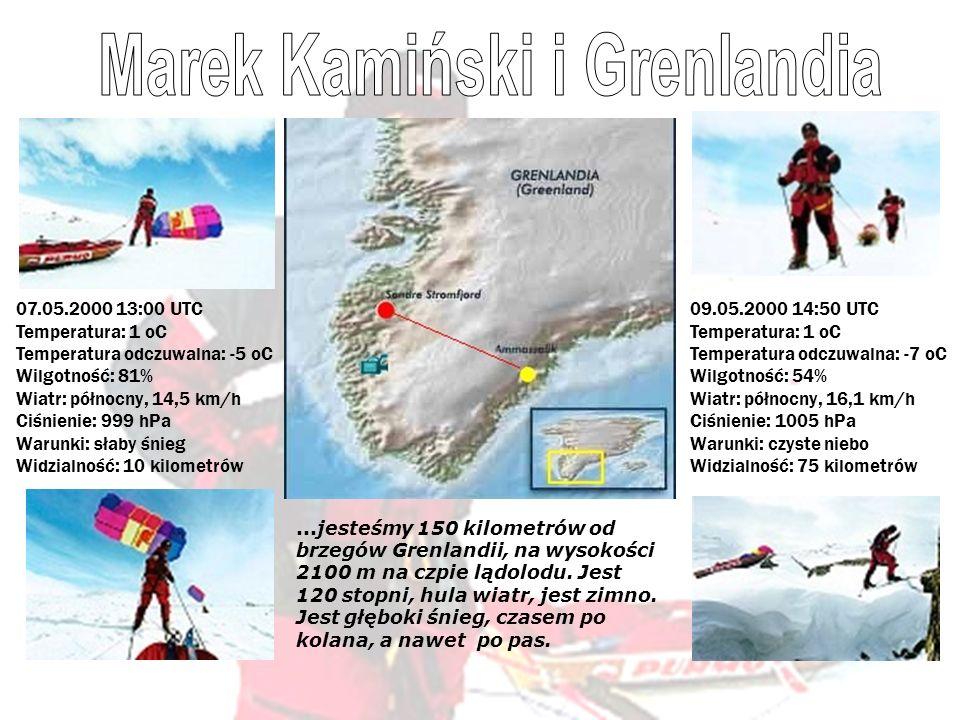Marek Kamiński i Grenlandia