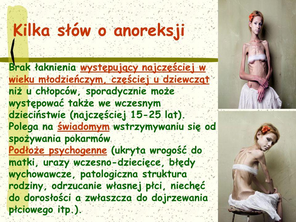 Kilka słów o anoreksji