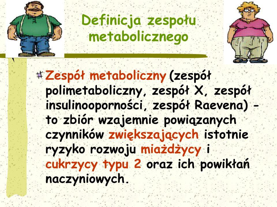 Definicja zespołu metabolicznego
