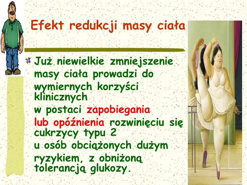 Efekt redukcji masy ciała