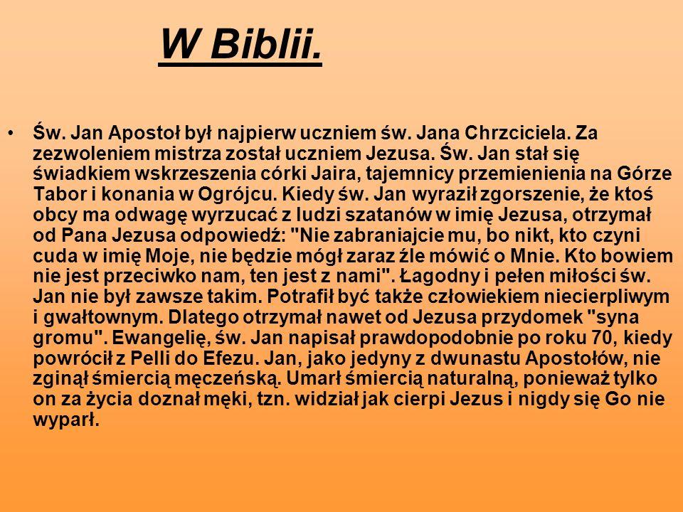 W Biblii.