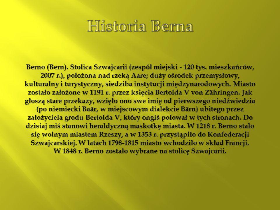 Historia Berna