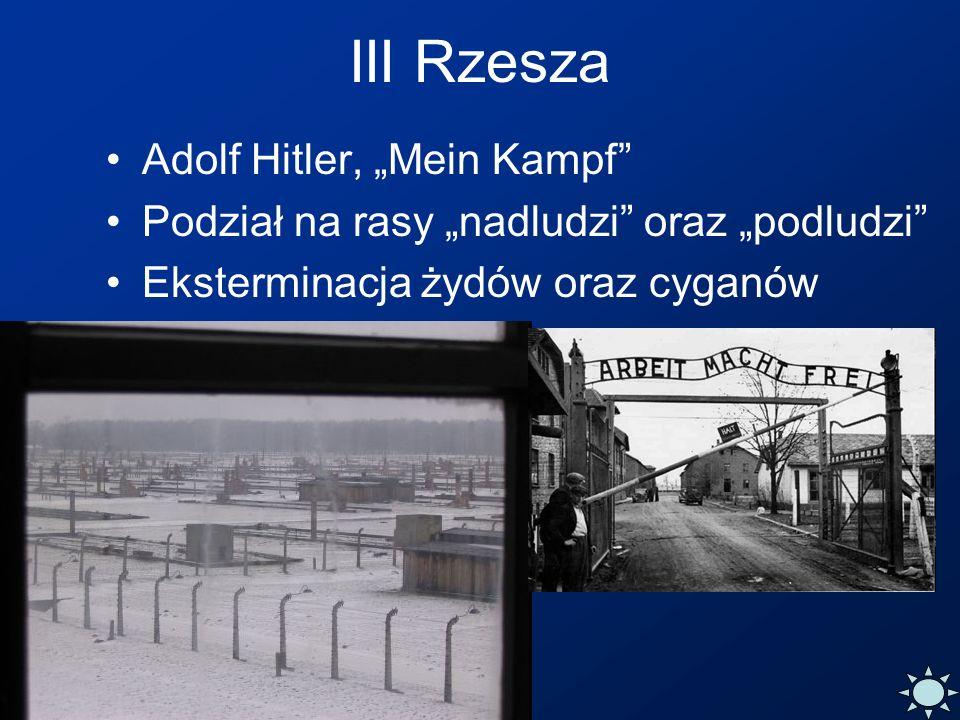 """III Rzesza Adolf Hitler, """"Mein Kampf"""