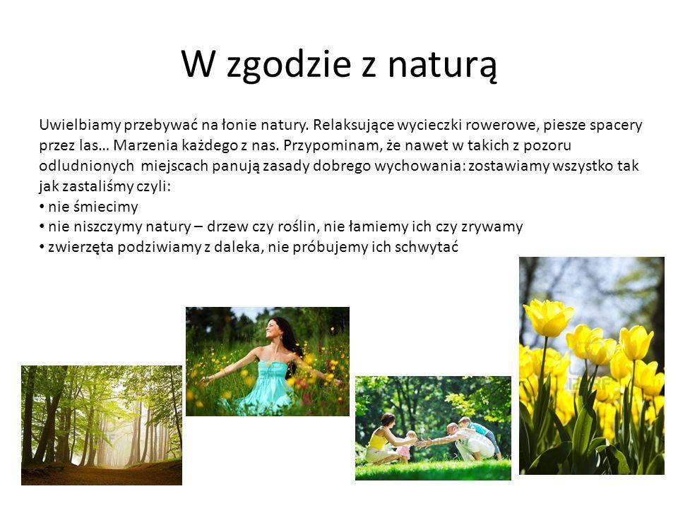 W zgodzie z naturą