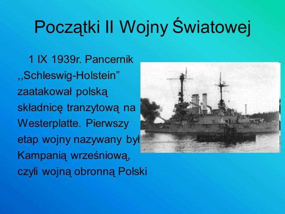 Początki II Wojny Światowej