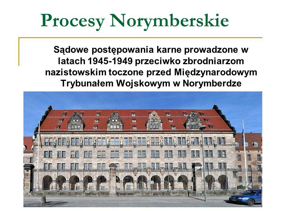 Procesy Norymberskie