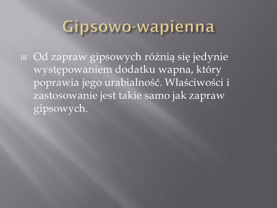 Gipsowo-wapienna