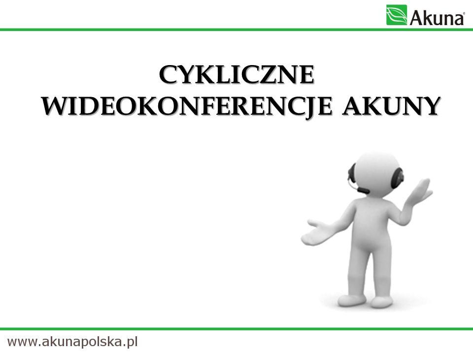 Cykliczne wideokonferencje Akuny