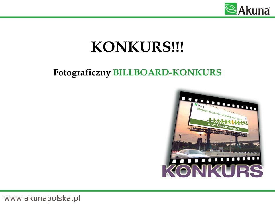 Fotograficzny BILLBOARD-KONKURS