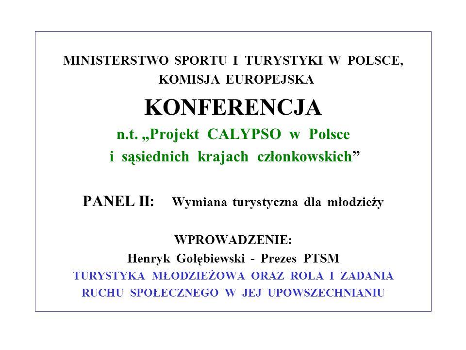 """KONFERENCJA n.t. """"Projekt CALYPSO w Polsce"""