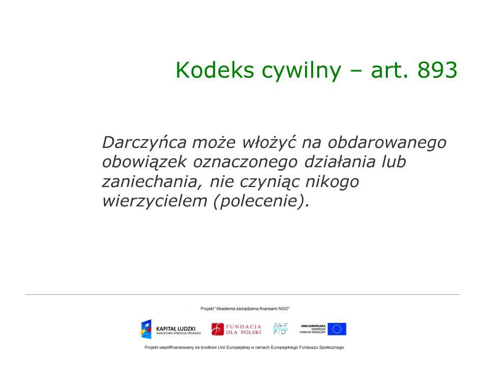 Kodeks cywilny – art. 893