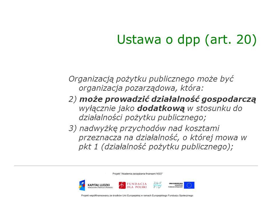 Ustawa o dpp (art. 20)