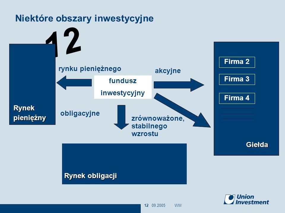 Niektóre obszary inwestycyjne