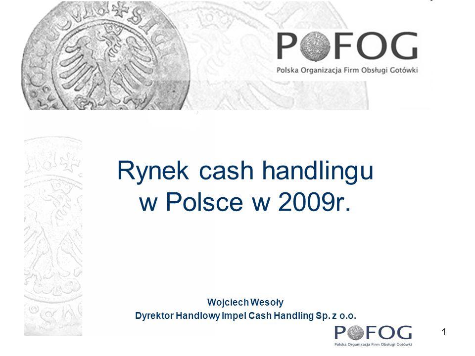 Rynek cash handlingu w Polsce w 2009r.
