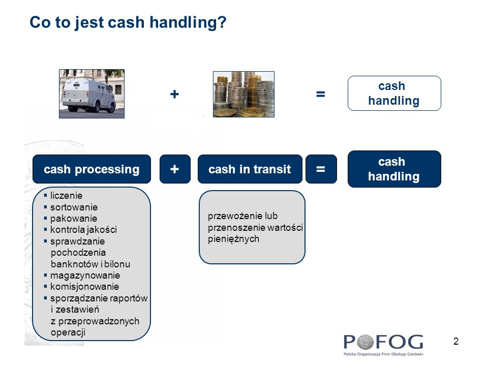 Co to jest cash handling