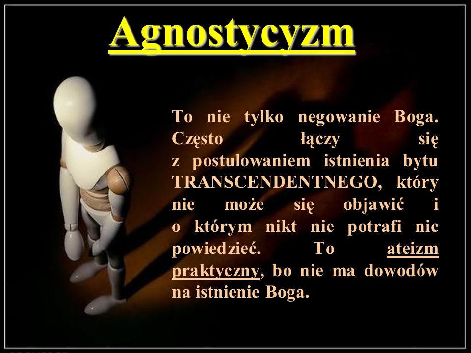 Agnostycyzm