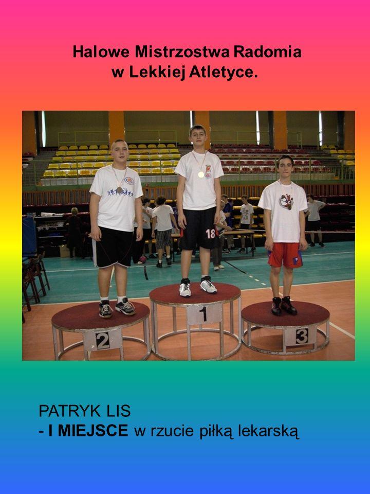 Halowe Mistrzostwa Radomia w Lekkiej Atletyce.