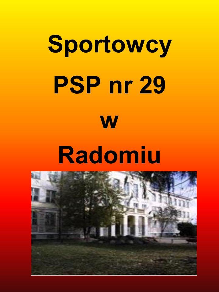 Sportowcy PSP nr 29 w Radomiu