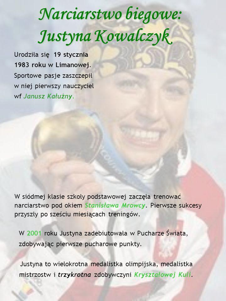 Narciarstwo biegowe: Justyna Kowalczyk
