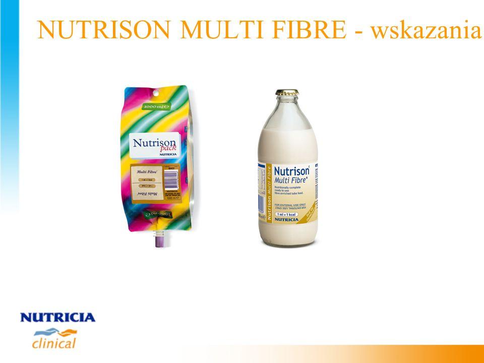 NUTRISON MULTI FIBRE - wskazania
