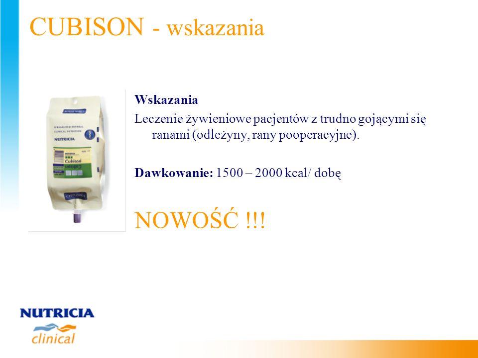 CUBISON - wskazania NOWOŚĆ !!! Wskazania