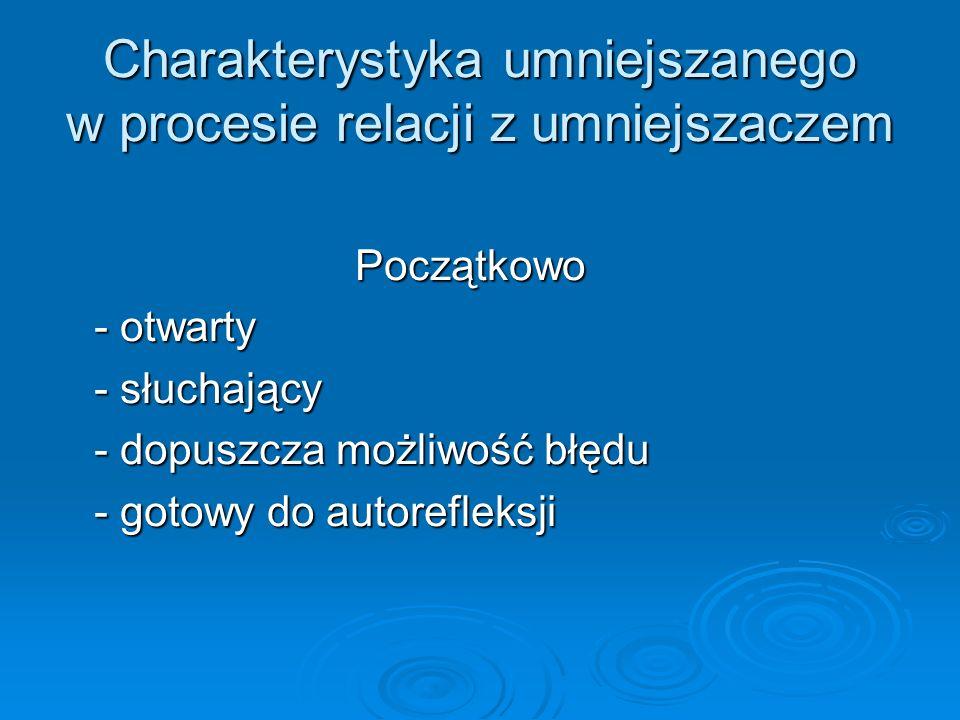 Charakterystyka umniejszanego w procesie relacji z umniejszaczem