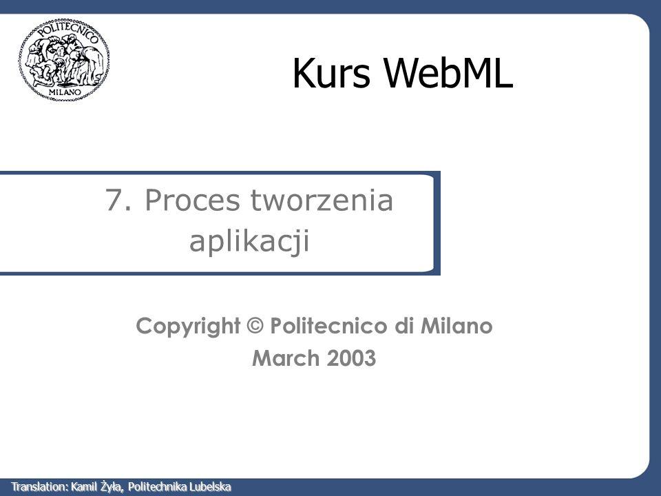 7. Proces tworzenia aplikacji