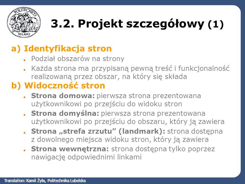 3.2. Projekt szczegółowy (1)