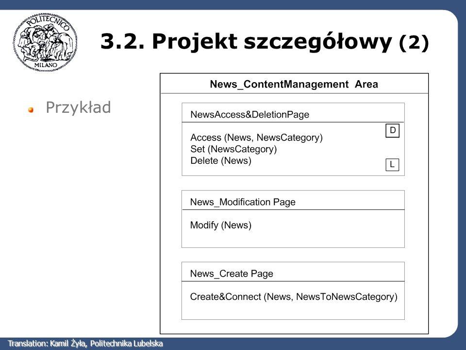 3.2. Projekt szczegółowy (2)