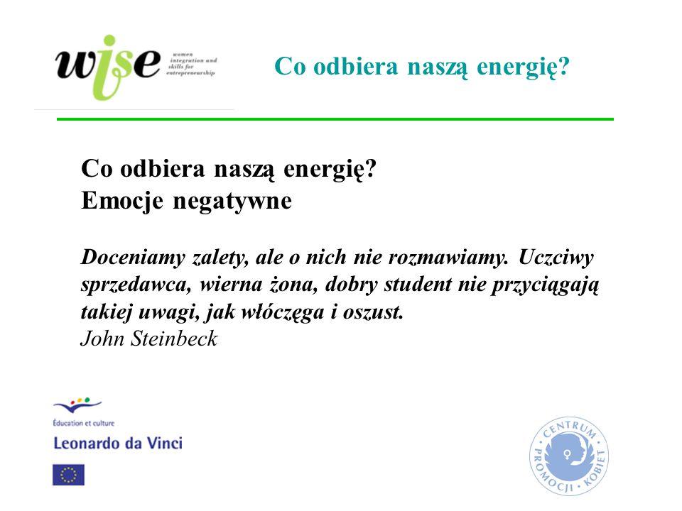 Co odbiera naszą energię