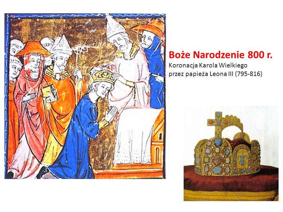 Boże Narodzenie 800 r. Koronacja Karola Wielkiego